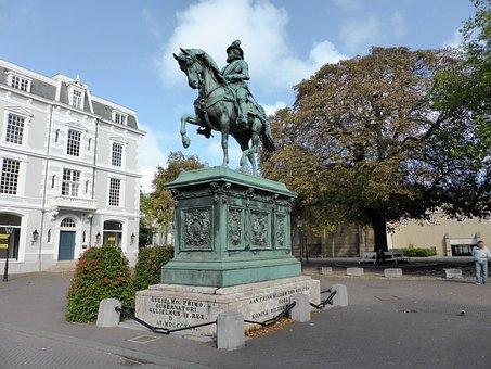 Work Of Art, Statue, Brass, Horse, Horseback Riding