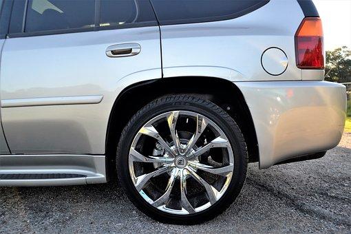 Used, Cadillac Escalade, Wheel, Tire, Beige