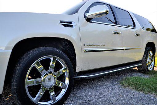 Pre-owned, Cadillac Escalade, Front, Side Door, Panel