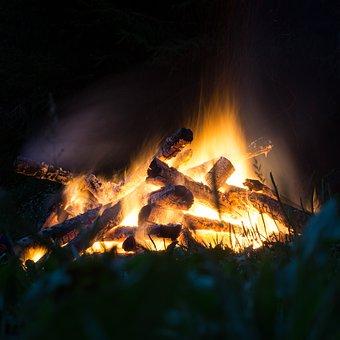 Fire, Campfire, Flame, Hot, Heat, Burn, Light, Warm
