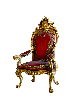 Throne, Ruler Chair, Chair, Seat, Furniture Pieces