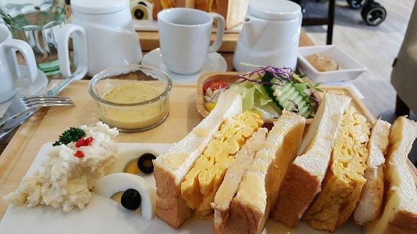 Breakfast, Sandwich, Food, Meal, Healthy, Tasty