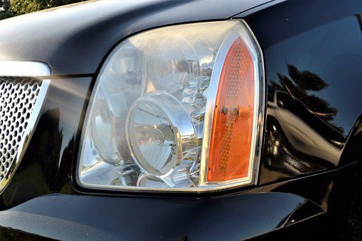 Pre-owned, Gmc Truck Headlamp, Head Light, Suv, Truck