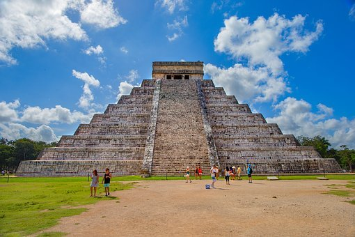 Pyramid, Kukulcan, Chichen Itza, Mexico, Antiquity