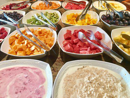 Breakfast, Hotel, Vitamins, Muesli, Vegan, Bio, Eat