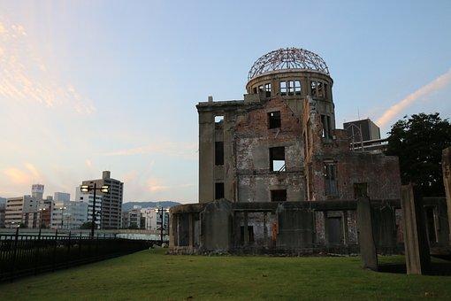 Atomic, Bomb, Hiroshima, Nuclear, War, Explosion
