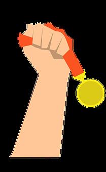 Winning, Success, Achievement, Sport, Award, Medal