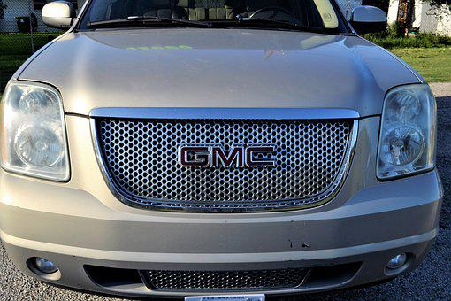 Gmc Yukon Truck Grill, Headlamp, Headlights, Windshield
