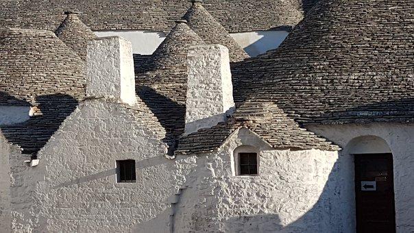 Trullo, Houses, Monte Pertica, Alberobello