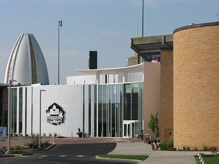 Hall Of Fame, Football, Building, American Football