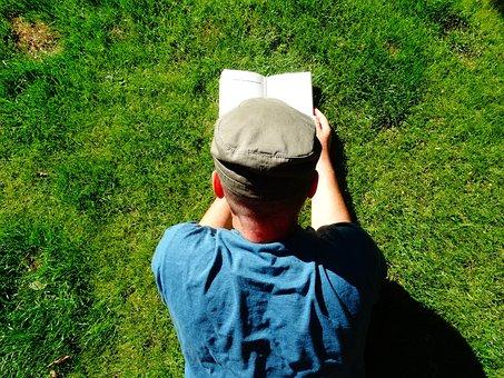 Read, Book, Books, Relax, Grass, Garden, Are
