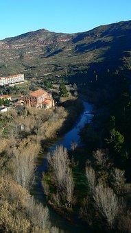 Spain, Barcelona, Mountain Montserrat, Park Guell
