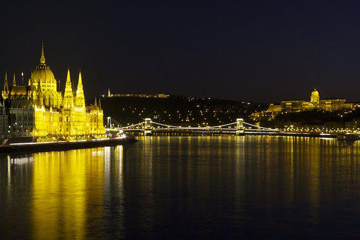 Budapest, Hungary, Parliament Building, Cityscape