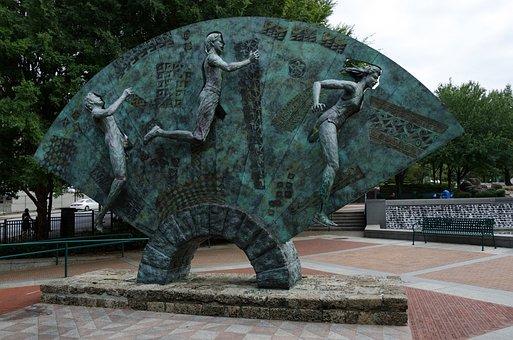Centennial Olympic Park, Usa, America, Atlanta, Georgia