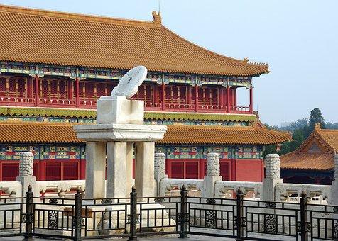 China, Pekin, Forbidden City, Sundial