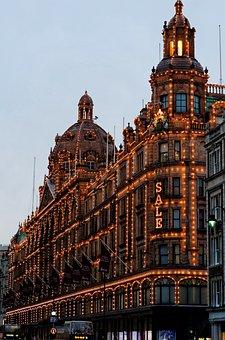 Store, Harrods, London, Department Stores, Christmas