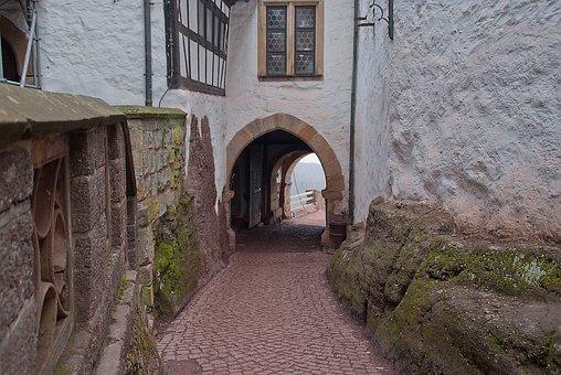 Wartburg Castle, Courtyard, Eisenach, Luther