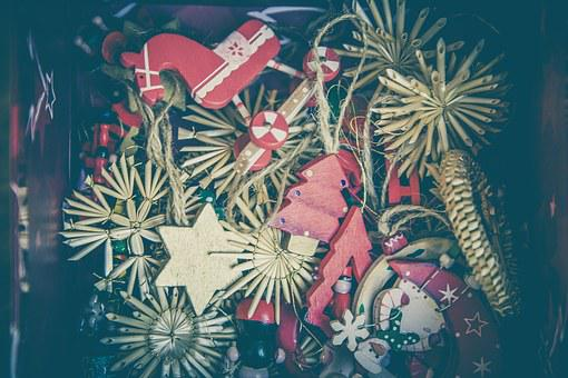 Christmas, Jewellery, Decoration, Star, Decorate