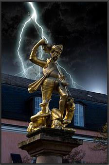 Thuringia Germany, Eisenach, Nikolai Gate