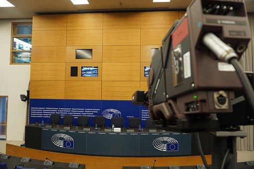 Strasbourg, European Parliament, Press Conference