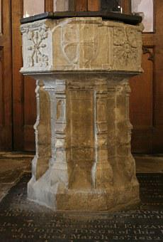 Font, Baptism, St Michael's Church, Sittingbourne