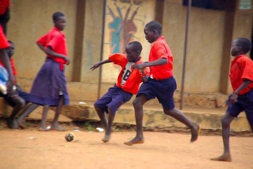Soccer, Sport, Red, Play, Ball, Foot, Feet, Black