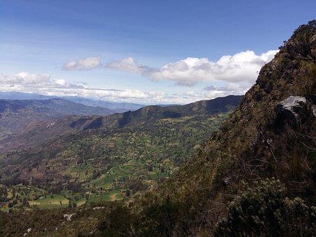 Montserrat, Güicán, Mountain, Stations Of The Cross