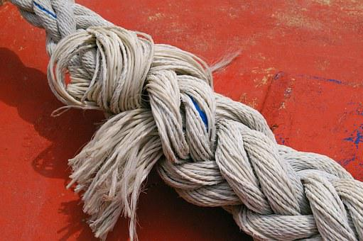Dew, Rope, Harness Lines, Fixing, Woven, Cordage