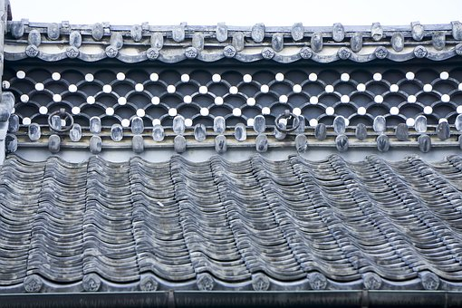 Japan, Tile, Daito, Roof, Japanese Style