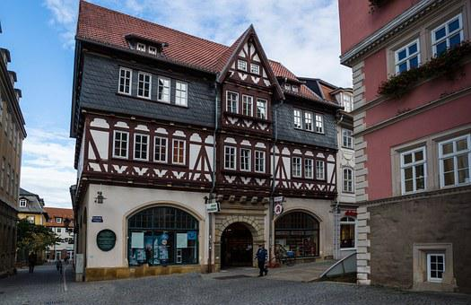 Thuringia Germany, Eisenach, Market, Marketplace