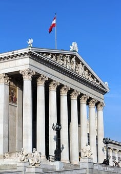 Parliament, Vienna, Austria, Monument, Architecture