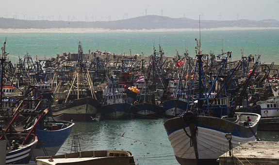 Port, Fishing Boats, Morocco, Essaouira, Sea, Boats