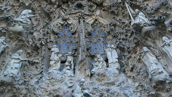 Barcelona, Mountain Montserrat, Park Guell