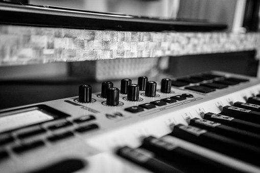 Music, Home Recording, Midi Keyboard, Passion