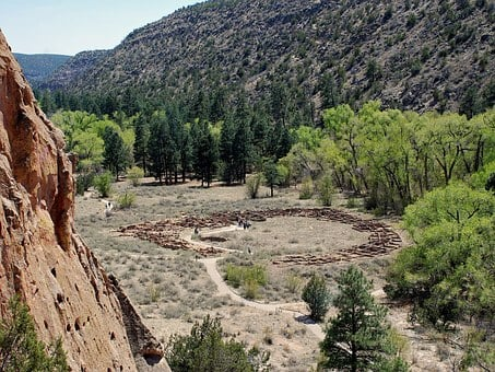 Bandelier National Monument, New Mexico, Landscape