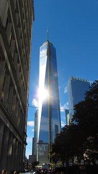One World Trade Center, Manhattan, Ground Zero