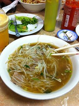 Pho, Soup, Food, Vietnamese, Asian, Bowl, Beef, Vietnam