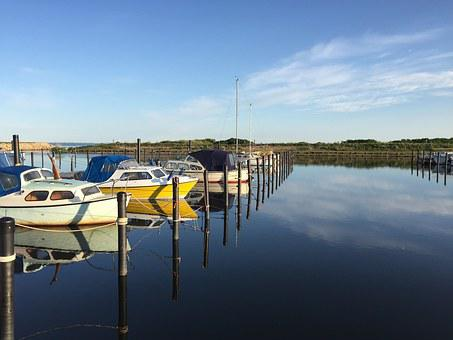 Port, Boats, Sky, Holiday, Boats In The Harbor