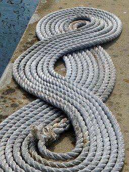 Rope, Hemp, Knitting, Hemp Rope, Cordage, Fixing, Port