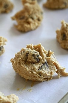 Cookie Dough, Raw, Cookie, Dough, Baking, Kitchen