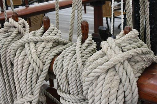 Ropes, Thaw, Seafaring, Knitting, Cordage, Fixing