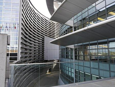 European Parliament, Strasbourg, Architecture, Rotunda