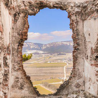 Ruin, Landscape, Austria, Castle, Old, Burgruine