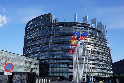 Strasbourg, European Parliament, Building, Europe, Eu