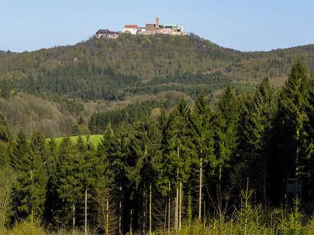Wartburg Castle, Luther, Eisenach, Thuringia Germany