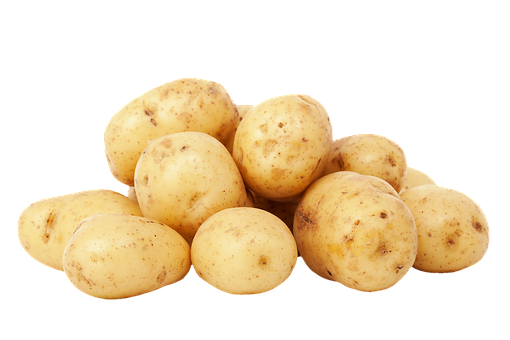 Potatoes, Unpeeled, Carbohydrates, Food, Agriculture