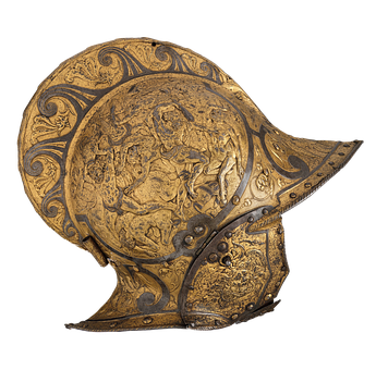Helm, Knight Helmet, Knight, Middle Ages, Metal, Armor