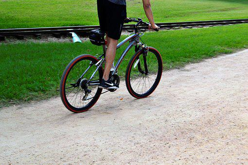 Mountain Bike, Bicyclist, Exercise, Health, Fast