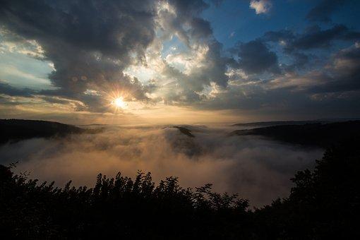 Mood, Hiking, Nature, Clouds, Cloud, Blue, Mountain