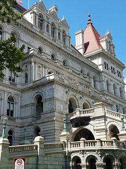 Albany, Capitol, Building, Architecture